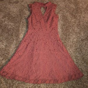 Francescas pink lace dress